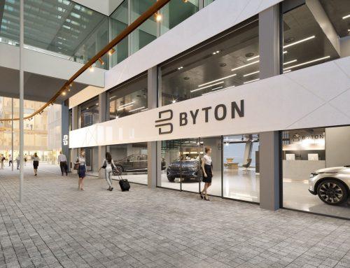 Ausbau des ersten BYTON Place in Europa