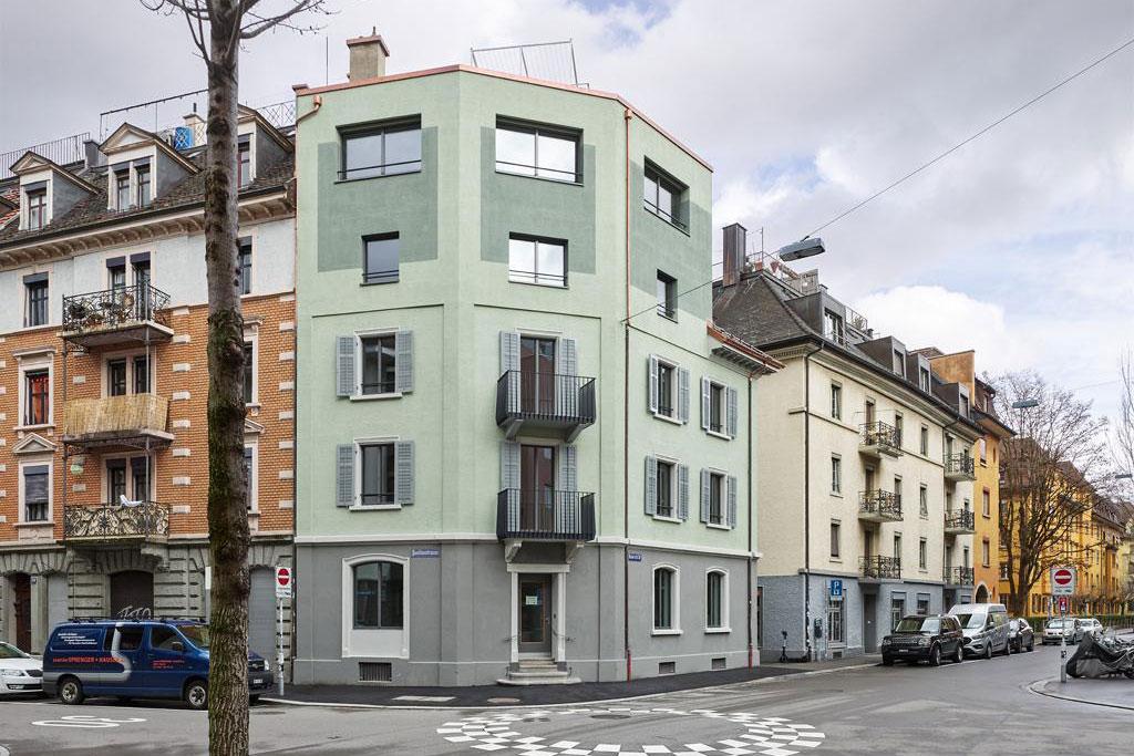 Mehrfamilienhaus Heinrichstrasse Zürich