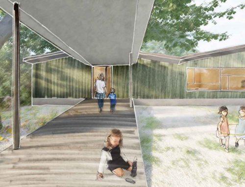 Kindergarten-Neubau Veltheim passt sich Sommerlinde an
